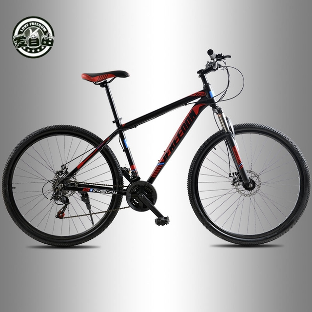 21 Скорость Алюминий Рамка Велосипеды Высокое качество 29 дюймов горный велосипед спереди и сзади механические дисковые тормоза бесплатно доставить