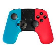 Xunbeifang 10 sztuk bezprzewodowy kontroler do gier Gamepad Joystick do przełącznika Pro N S akcesoria do grania