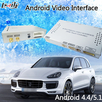Android 6.0 Video Interface GPS Navigatie Doos voor Porsche Cayenne PCM3.1 Systeem met WIFI IGO Kaart Mirrorlink Cast Screen
