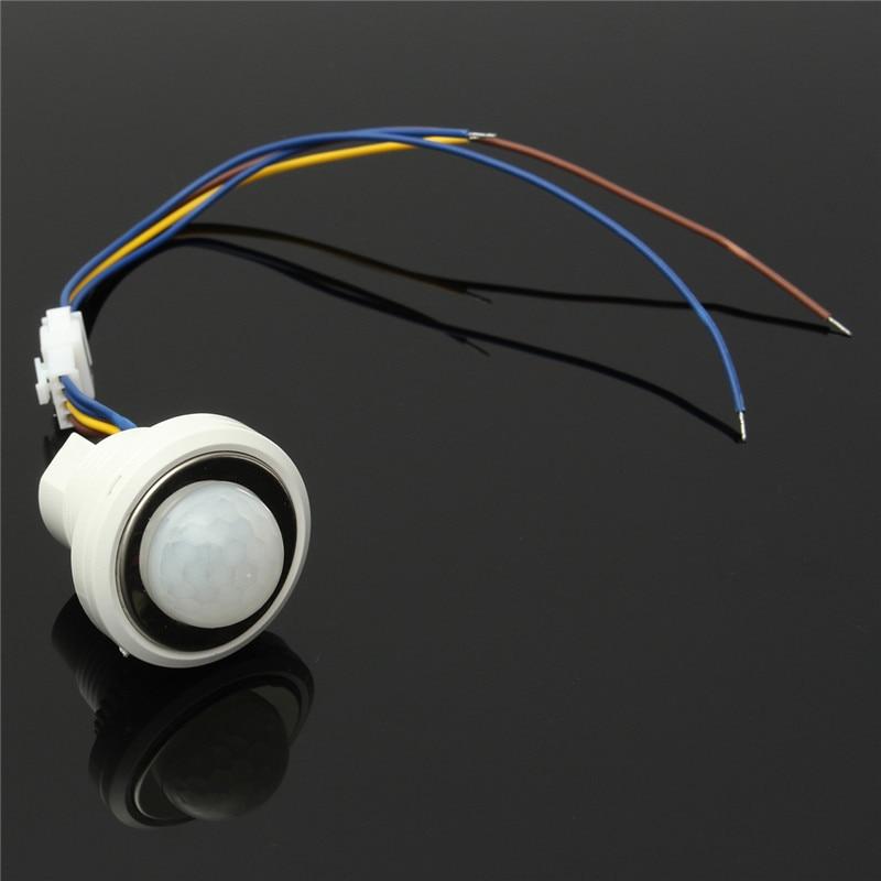 1 pcs 26mm PIR Infrarouge Ray Motion Sensor Commutateur Retard Temps 40 s Mode Détecteur de Commutation AC100-240V 50/ 60 hz
