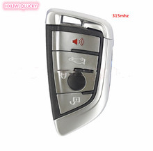 HXLIWLQLUCKY 4 Buttons Smart Remote Key 433mhz 7959p chip For FEM BMW X5 X6  CAS4/CAS4+ remote key free shipping