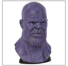 цены Deluxe Thanos Mask Infinity Gauntlet Avengers Infinity War Helmet Cosplay Thanos Masks Halloween Party Collection Props