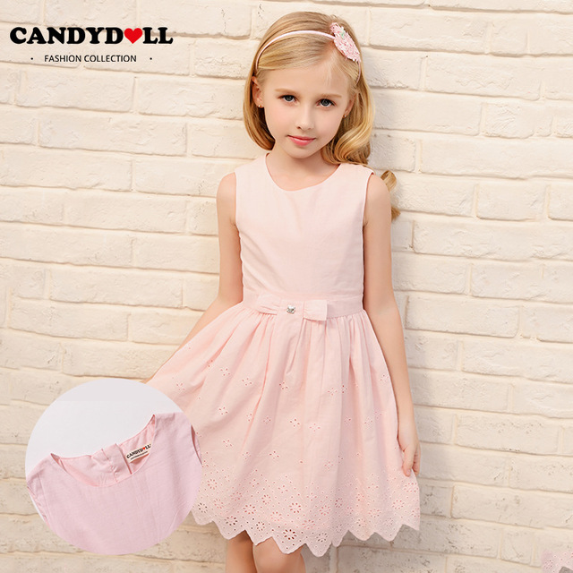 6f410b7adbda CANDYDOLL New girls summer dress