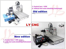 Cheapest cnc machine stone cutting machine CNC 3040 Z S 4 Axis metal marble used machinery