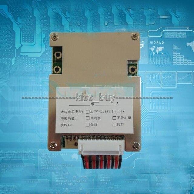 10 s 36 v Li Ion Lithium Zelle 30A 18650 Batterie Schutz BMS PCM Bord ausgang Balance Ausgewogene licht für Elektrische fahrrad bike