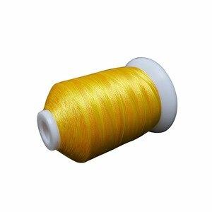 Новое поступление, разные цвета, машина для вышивки нитью 1000 м/конус, подходит для большинства домашних вышивальных машин