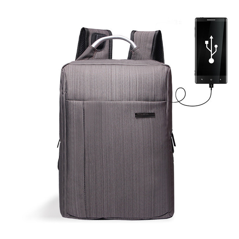 Business Men's Backpack Usb Charging Anti Theft Laptop Backpack 17 Inch Male Large Capacity College School Bags Mochila Escolar