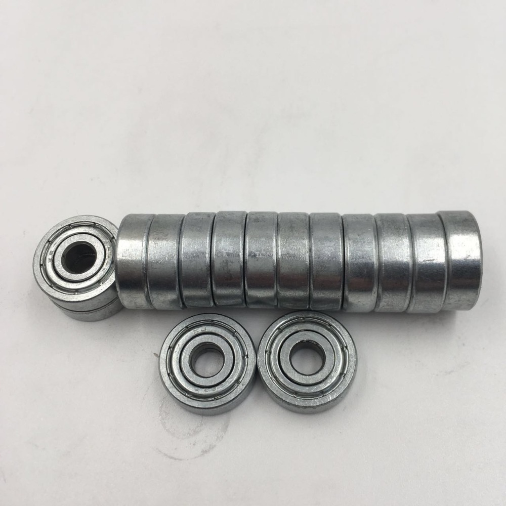 100pcs Double Shielded Miniature GCR15 Steel Single Row 625ZZ P0.ZV1 / ABEC-1.Z2 Deep Groove Ball Bearing 5x16x5 625 ZZ gcr15 6036 180x280x46mm high precision deep groove ball bearings abec 1 p0 1 pcs