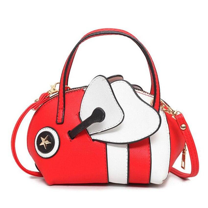 M577 2017 New Women Bag Spring Summer Cartoon Cute Little Bee Ugly Fish Bag  Hit Color Bag Women Shoulder Handbags Bag In Shoulder Bags From Luggage U0026  Bags ...