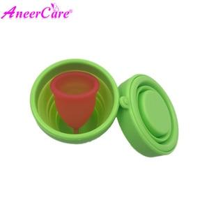 Image 5 - 25pcs esterilizador copa וסת aneercare וסת כוס מעקר מתקפל כוס copa וסת דה silicona מדיקה