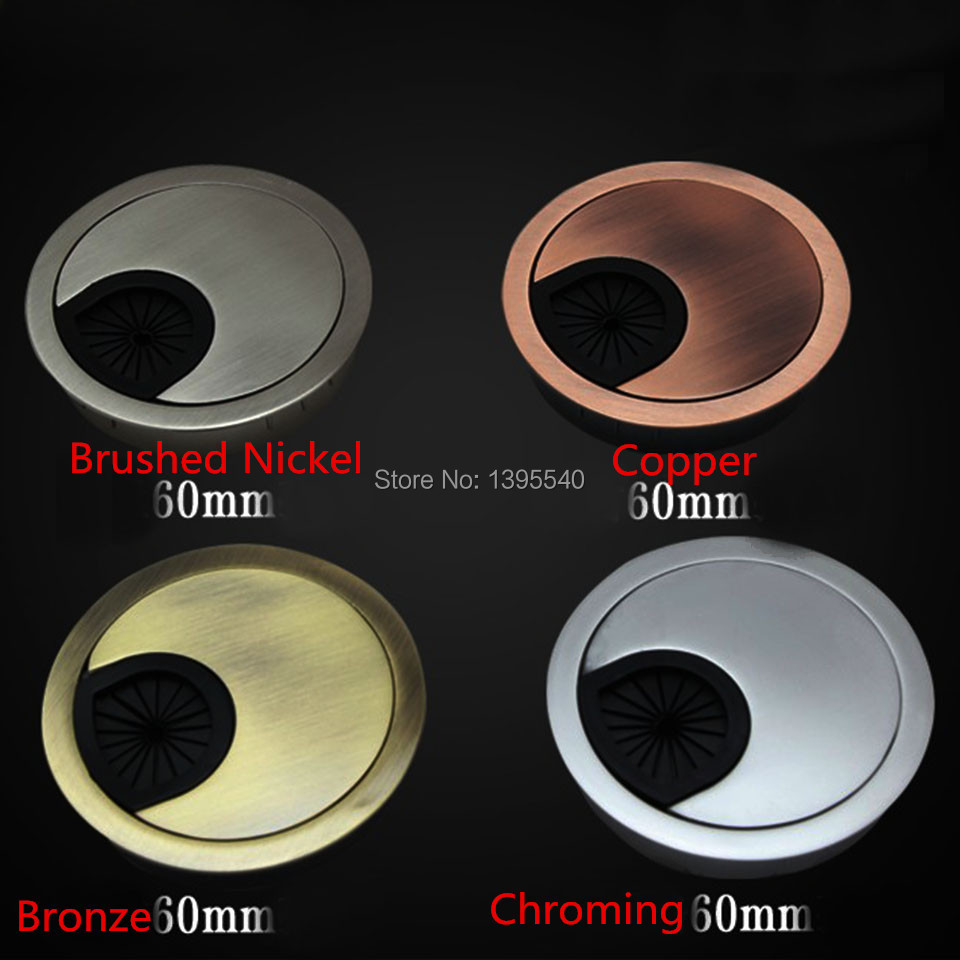Merveilleux Aliexpress.com : Buy New 60mm Computer Desk Line Hole Cover Grommet Desk  Table Cable Tidy Outlet Port Surface Wire Hole Cover Switch Plates Cabin  From ...