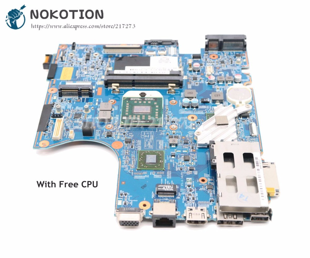 NOKOTION 613213-001 613211-001 For Hp Probook 4525S Laptop Motherbaord Socket S1 Free CPU 48.4GJ02.011 MAIN BOARD NOKOTION 613213-001 613211-001 For Hp Probook 4525S Laptop Motherbaord Socket S1 Free CPU 48.4GJ02.011 MAIN BOARD