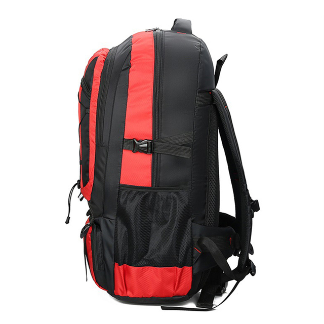 75L Waterproof unisex men backpack travel pack sports bag pack Outdoor Camping Mountaineering Hiking Climbing backpack for male 4