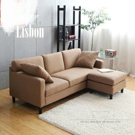 Living Room Sofas Furniture Home Hemp Fabric Sofa Set Three Seats European Style