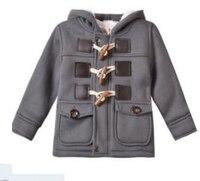 Helen115 Casual Bambini baby boy vestiti della ragazza di Inverno Retro Imbottito Parka Jacket Outwear M-3Y