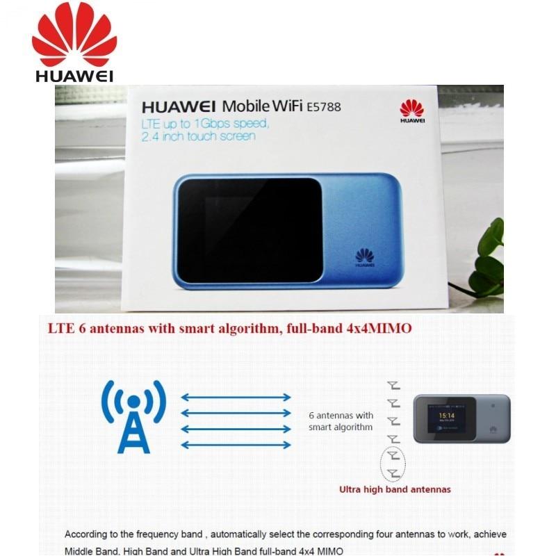 Huawei E5788 CAT16 1 Gbps Télécharger Mobile WiFi 4g LTE Hotspot Portable Routeur E5788u-96a