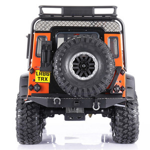 Image 5 - Simulation Rear Taillight Protection Lamp Cover Guard for 1/10 Traxxas TRX4 D90 D110 Land Rover Defender Upgrade RC Car Parts