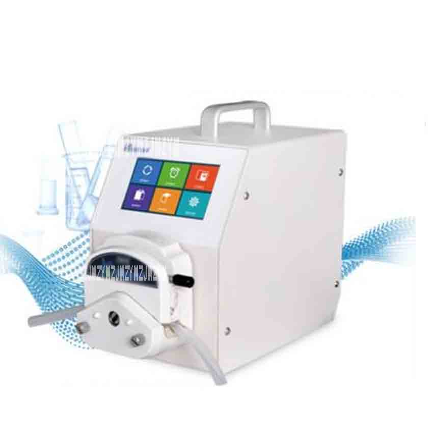 New Arrival Lab UIP Intelligent Peristaltic Pump Self-priming Pump Large Flow Pump Silent Small Metering Pump 220V 25W 300rpm