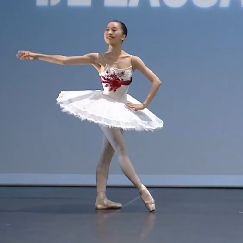 7534b3bae Blanco Cisne lago trajes de danza profesional bandeja Tutu Ballet mujeres  niña bailarina vestido ...
