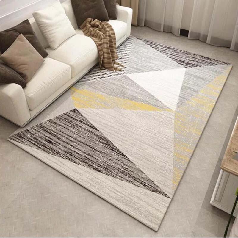 Home & Garden Home Textile Amiable Simple Modern Living Room Sofa Floor Carpet Anti-slip Bedroom Bedside Mat Baby Play Mats 120x160cm
