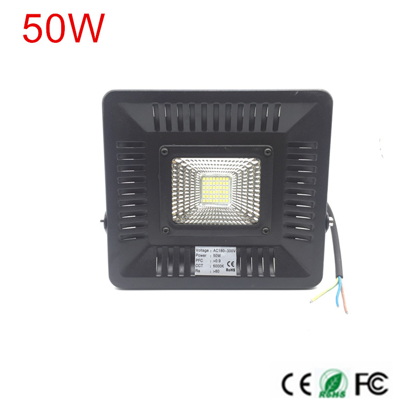 Ultra Bright LED Indoor light 30W 50W LED Flood Spotlight High quality LED Floodlight For billboard building недорго, оригинальная цена