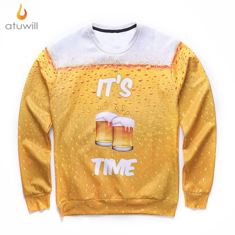 Yellow Crewneck Sweatshirt Promotion-Shop for Promotional Yellow ...