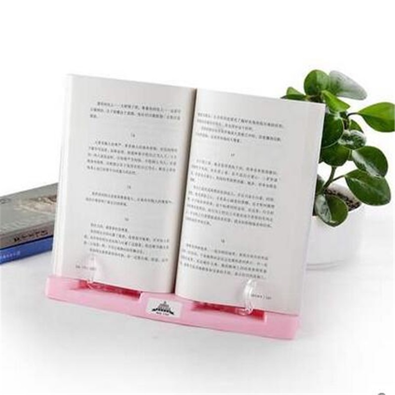 Hot ! Adjustable Angle Foldable Portable Reading Book Stand Document Holder free shipping shd s010 silicone anal butt plug tail vibrator anal sex toys prostate massager for gay man with super power 7 mode
