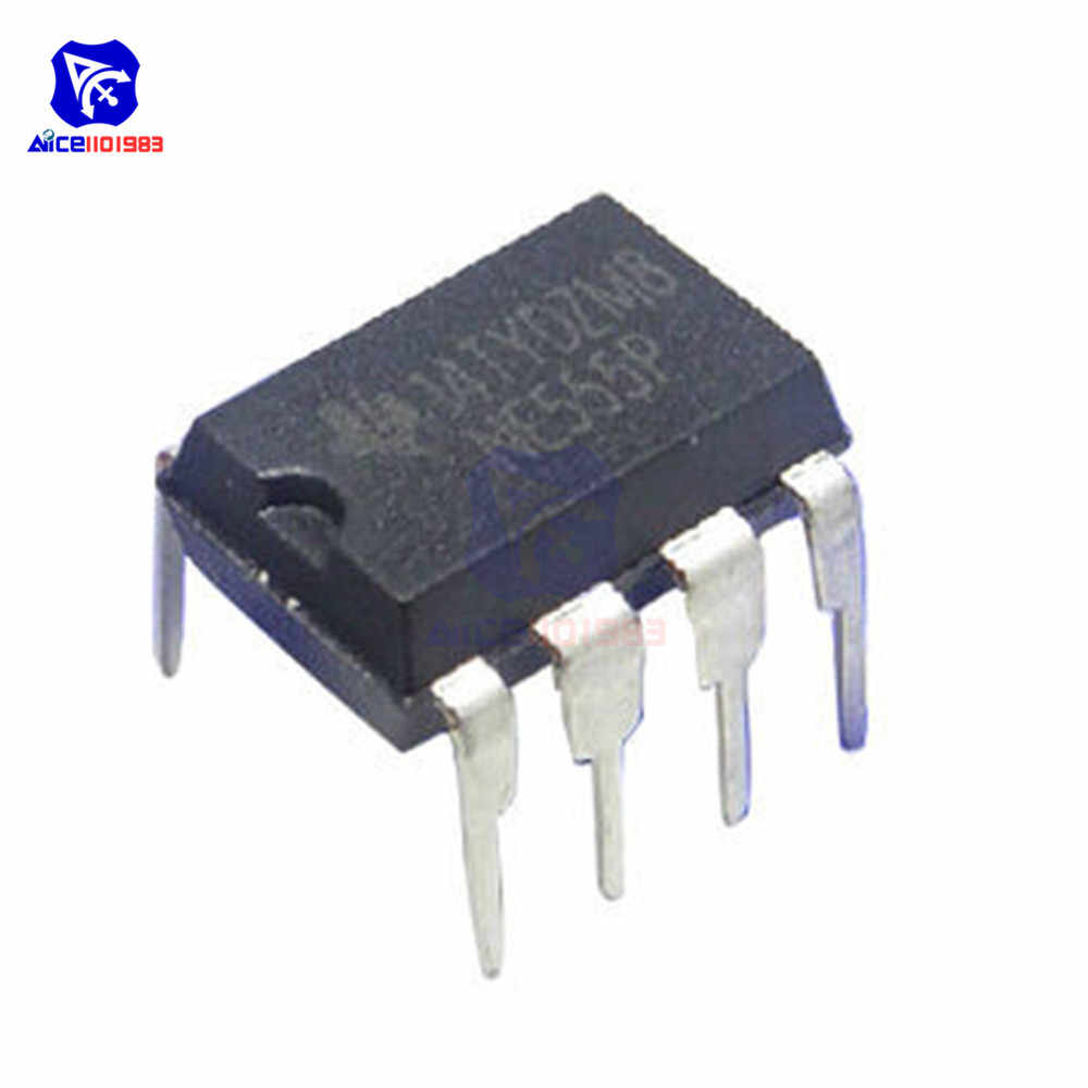 10 uds/lote IC Chips NE555P NE555 555 DIP-8 tensión temporizador regulador IC Chips