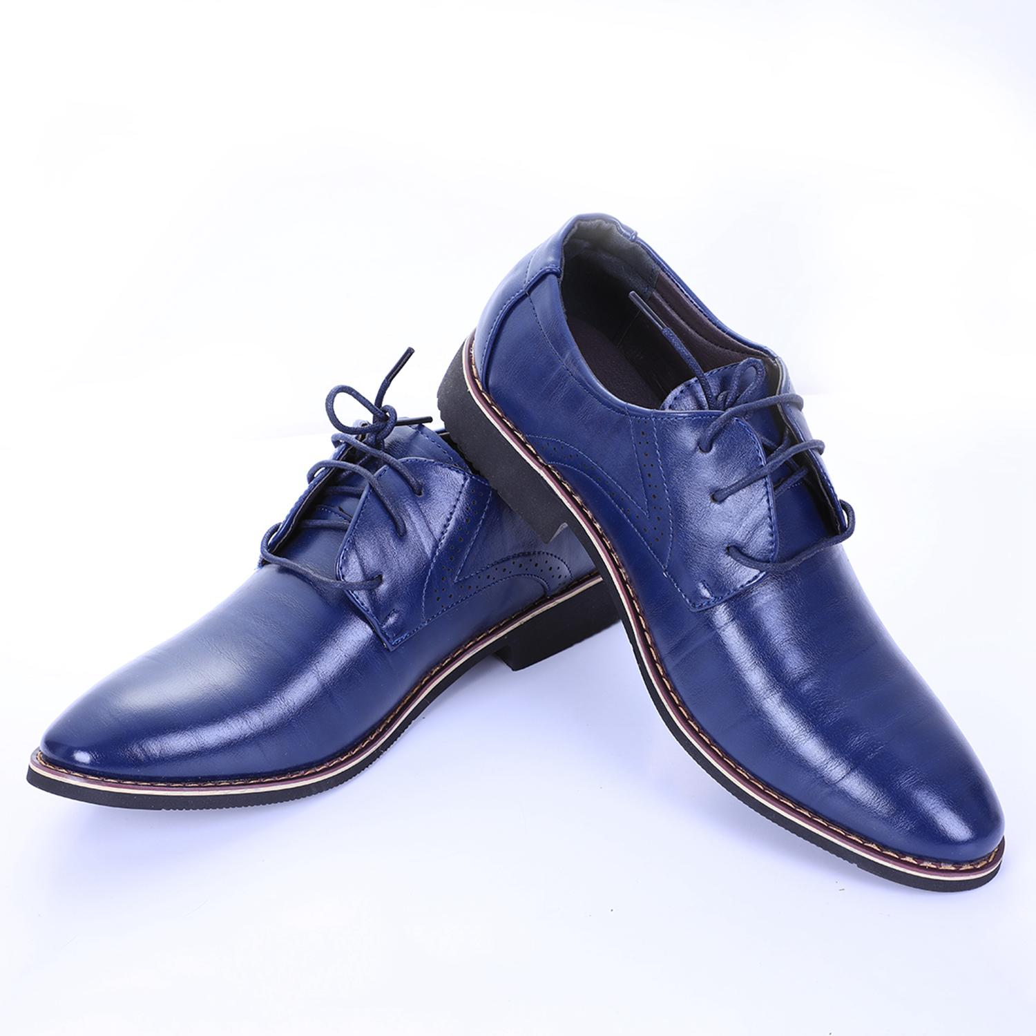 Men shoes&Men Dress Shoes Quality Genuine Leather Business Oxfords Shoes Fashion Groom Wedding Classic Flat Shoes Size 38-46 2017 new arrival top quality men genuine leather dress shoes business men oxfords classical gentleman shoes flat shoes 38 44