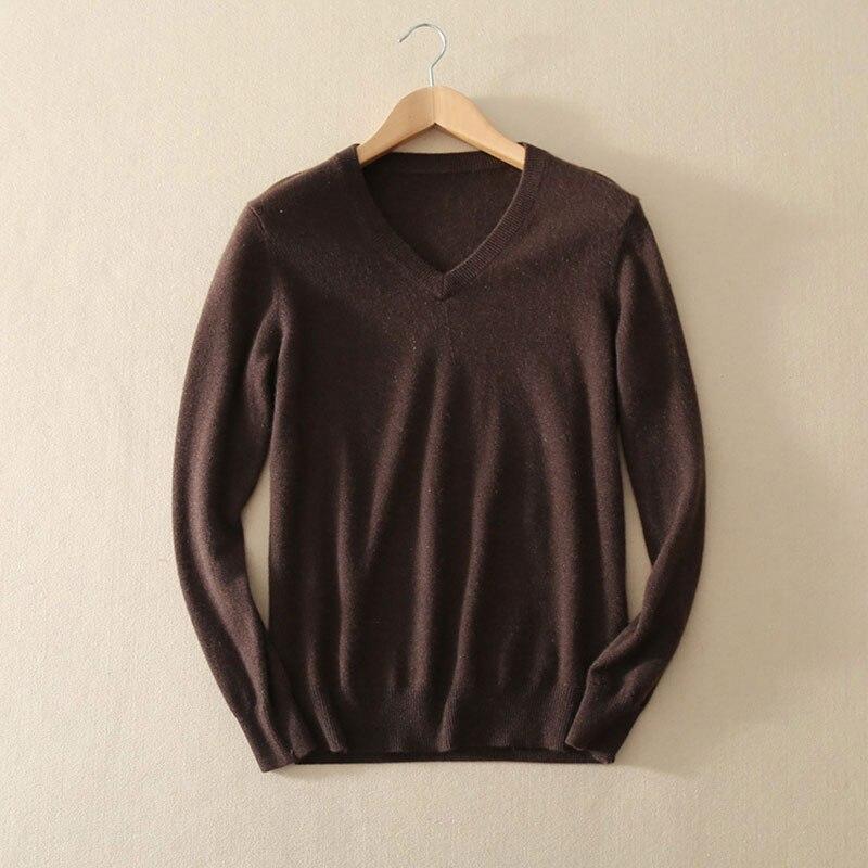 Новая мода 100% из чистого кашемира осенние пуловеры свитер Для мужчин 2017 В шеи одежда с длинным рукавом вязаный мужской джемпер Повседневное