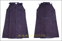 Top Quality 11000# 100% Cotton Blue Shoaizome Hakama Kendo Iaido Aikido Martial Arts Uniform Sportswear Free Shipping