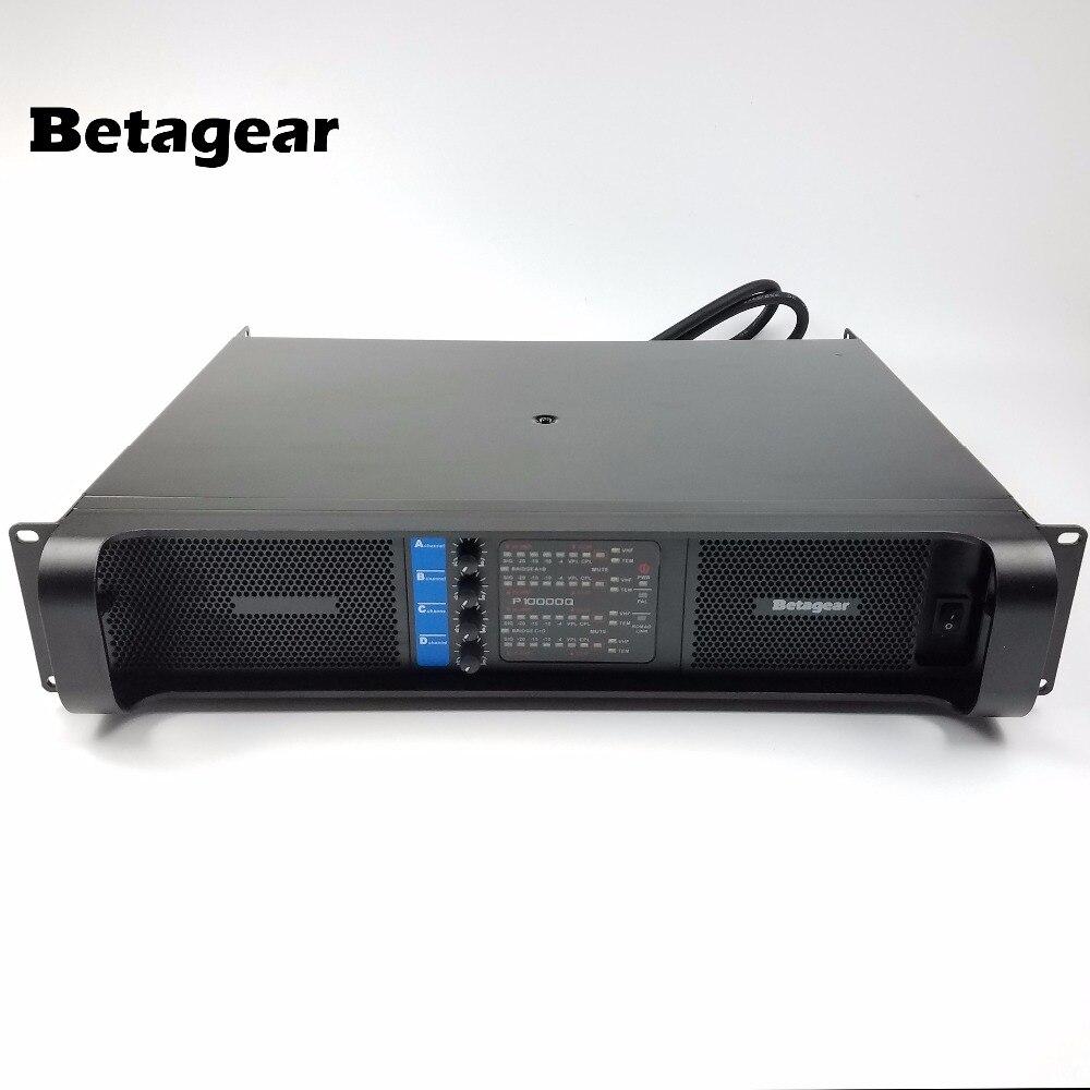 Betagear Labor BT10000q Audio verstärker Line Array AMPS Subwoofer ...