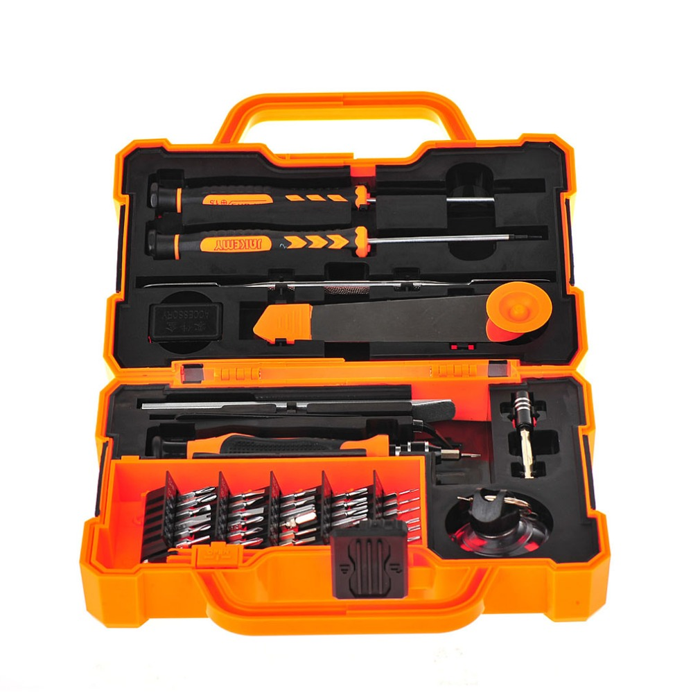 45 In1 Torx Precision Screwdriver Phone Repair Tools Set Mobile Tweezer Kit VEH68 T0.05 repair 53 in1 cross precision star torx flat hex screwdriver tools set tweezer