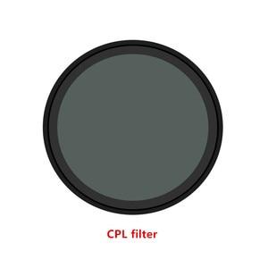 Image 2 - Lens UV CPL Filter For Xiaomi Mini MI Jia 4K Filtors Cover Lens Protective  For Xiaomi Mini MI Jia Sport Camera Accessories