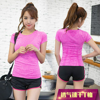 QS31T TXY06 Women S Sports T Shirt Short Sleeved Summer Running Fitness Quick Drying Moisture Perspiration