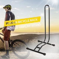 Mountain Bike Rack Parking Holder Heavy Duty L type Bicycle Coated Steel Display Floor Rack Bike Repair Stand