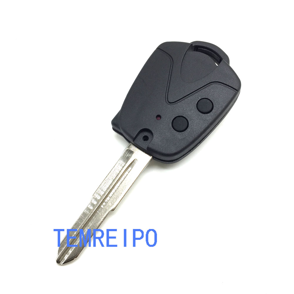 2 Button replacement car key case for Proton car key shell blank case For Proton auto parts Right blade
