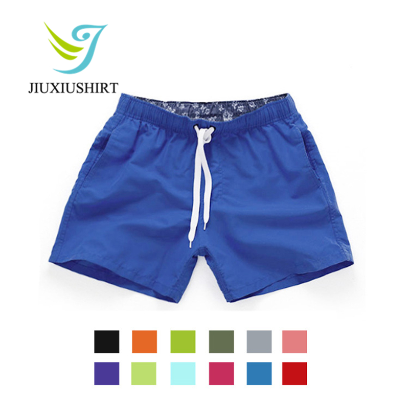 Men Solid Beach   Shorts   Quick Dry Running   Shorts   Swimwear Swimsuit Swim Trunks Beachwear Sports   Shorts     Board     Shorts   Boxer Briefs