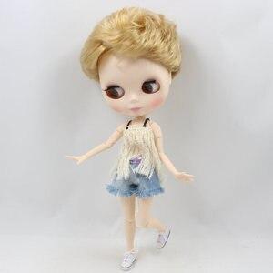 Image 2 - Blyth boneca sapatos de tecido com cinco diferentes cores para adequado para 1/6 do órgão CONJUNTO