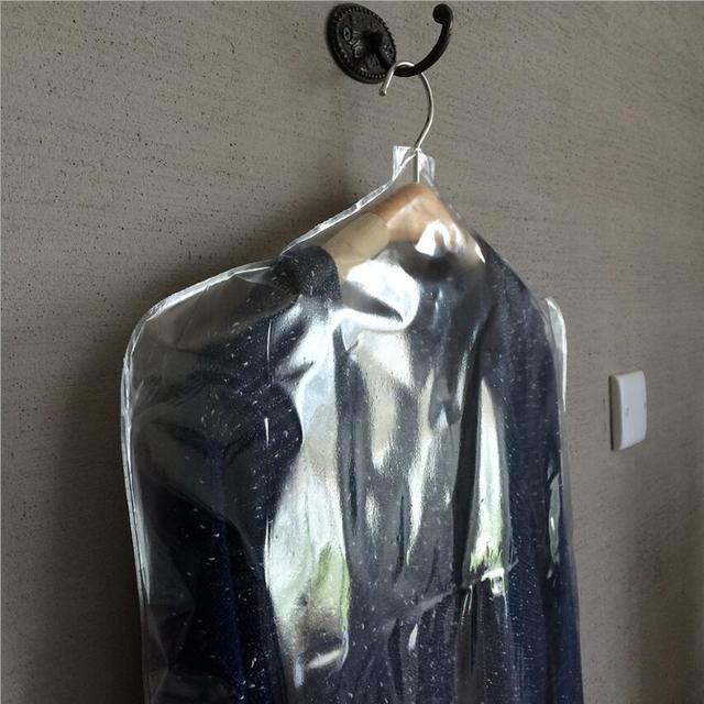 ПВХ одежда Пылезащитная крышка прозрачная одежда Пылезащитная сумка  Прачечная магазин одежды полудлина одежда 12631d1c8ec