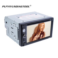 6.2 inch media car mp5 DVD player automotivo Stereo 2 din car radio wheel control remote Rear View Camera mp4 Multimedia Play