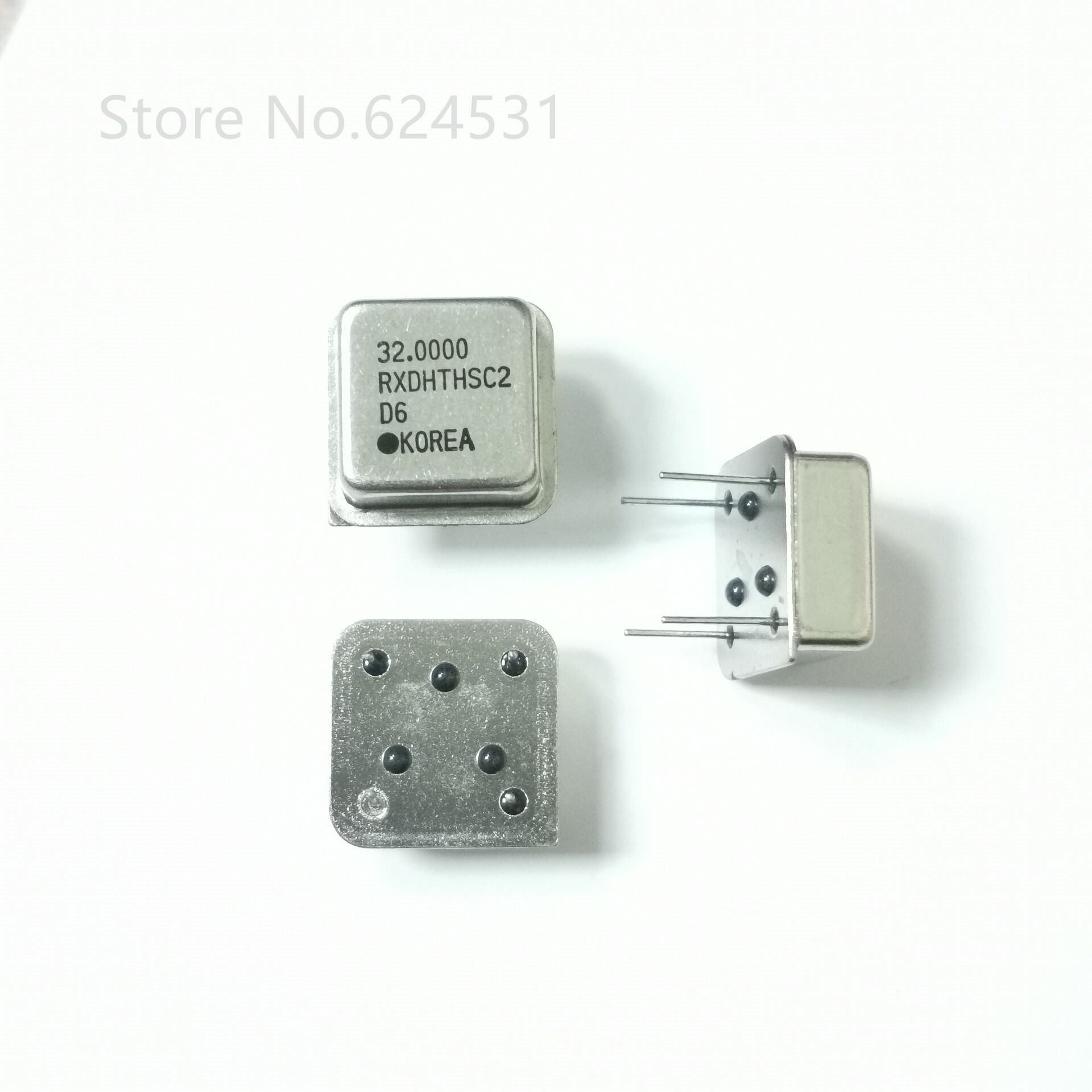 10pcs In-line Active Crystal Oscillator Clock Square Half Size DIP-4 OSC 32MHZ 32M 32.000MHZ
