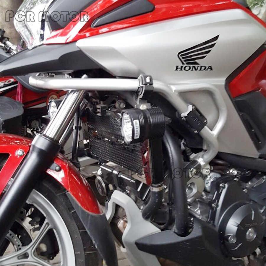 اكسسوارات لهوندا NC750 NC750S NC750X NC 750 S/X 2014 2015 2016 2017 دراجة نارية المبرد الحرس حامي مصبغة غطاء الشواية
