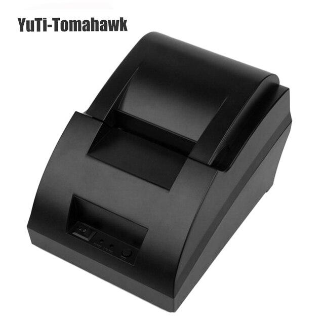 МИНИ термопринтер 58 мм usb порт POS чековый принтер для кассовых аппаратов в супермаркете горячие продажи высокая скорость