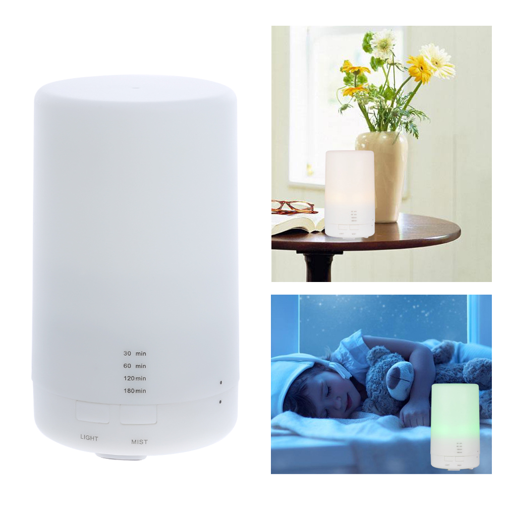 USB Essential Oil Diffuser Ultrasonic Humidifier Portable Aromatherapy Diffuser,Car Aroma Diffuser Auto Shut Changing Led Color hot sale humidifier aromatherapy essential oil 100 240v 100ml water capacity 20 30 square meters ultrasonic 12w 13 13 9 5cm