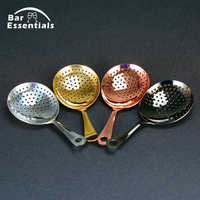Manufacturer Julep Bar Cocktail Strainer 304 Stainless Steel Cocktail Shaker Bar Ice Strainer Wire Mixed Drink Barbartender Tool