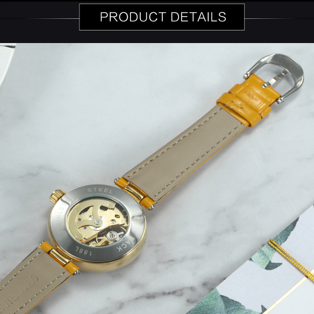 Urban Vintage Women Mechanical Watch (Different Colors)