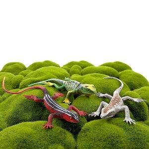 Image 5 - 12 قطعة الضفدع الحشرات ثعبان سحلية النمل مزرعة الحيوان متعة نموذج عمل الشكل هدية الكريسماس للأطفال تربية الأطفال حديقة لعبة