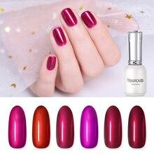 hot deal buy harunouta 12ml red mirror nail uv gel polish long last led lamp gel varnish semi permanent gel for nail gel nail art manicure
