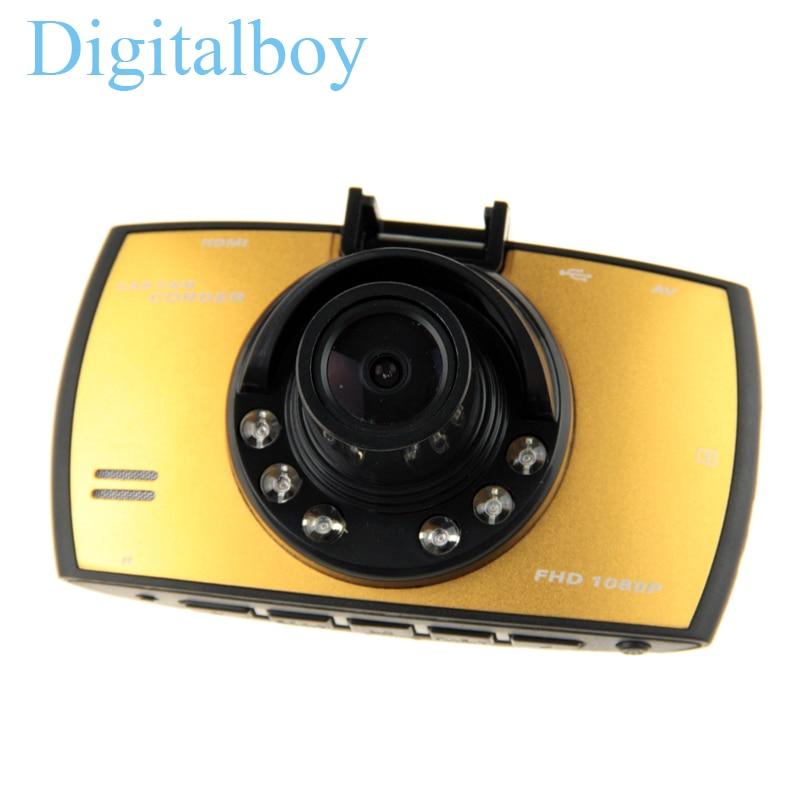 imágenes para Videocámara Del Coche Dvr de la Cámara Del Coche Novatek 96220 2.7 Pulgadas de 140 Grados 1080 P Video Recorder Dash Cam Registrator Dvr Dashcam
